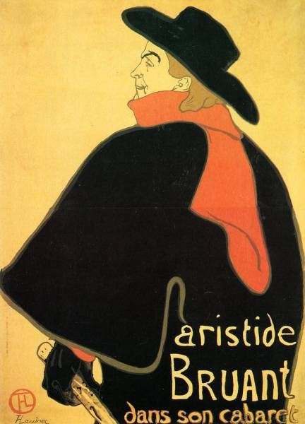 Aristede Bruand at His Cabaret